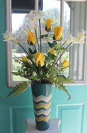 Yellow Roses and Daffodils